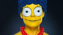 Incrível: fotógrafo cria a Marge Simpson da vida