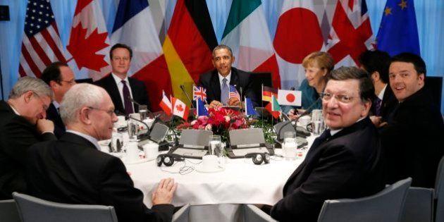 G7 alerta Rússia para mais sanções se crise se agravar na