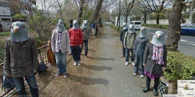 Os lugares mais assustadores do Google Street View