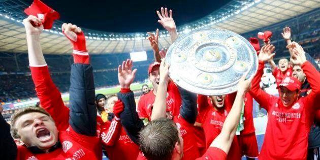 Sob o comando de Guardiola, Bayern de Munique é campeão alemão com