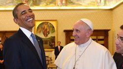 Papa + Obama = encontro