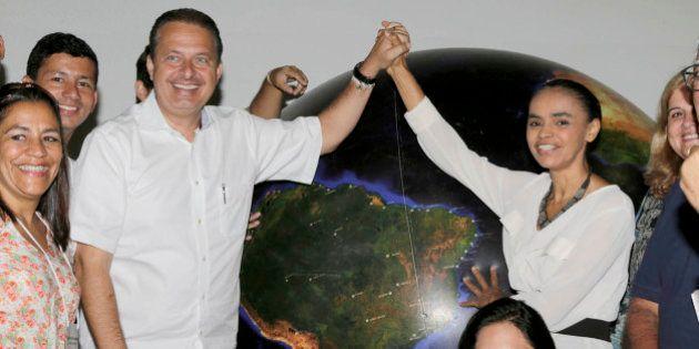 Campos e Marina atacam Dilma e se colocam como opção para mudança nas eleições de