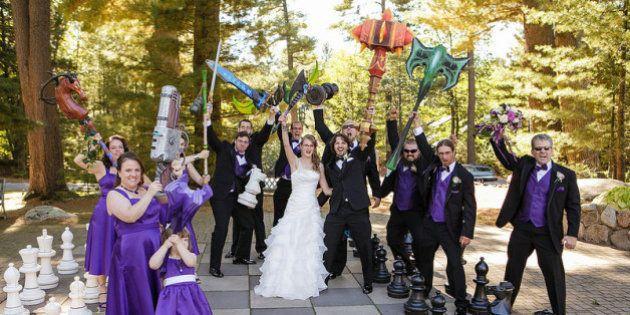 World of Warcraft: casal faz celebração inspirada no jogo