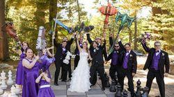 Casamento Nerd: veja uma cerimônia inspirada em World of