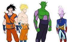 Mickey-Ha-Me-Ha: personagens de Dragon Ball em versão