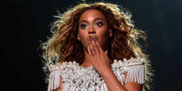 Estágio de Beyoncé pago com