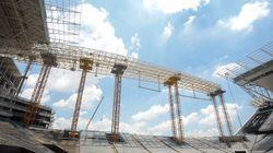 Itaquerão tem obras nas arquibancadas provisórias liberadas nesta