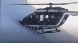 Βίντεο: Απίστευτη διάσωση σκιέρ από ελικόπτερο στις