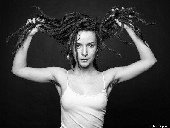 Ben Hopper e a a beleza oculta dos pelos das mulheres