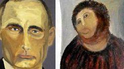 Imperdível: veja as pinturas que Bush fez de líderes mundiais