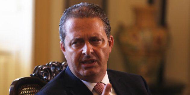 Eduardo Campos e Marina Silva veem