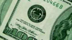 E o dólar, que caiu de