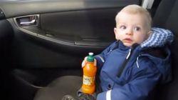 ASSISTA: a primeira vez deste garoto em um lava-rápido é