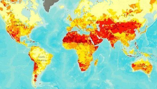 8 mapas que vão mudar seu jeito de olhar para a