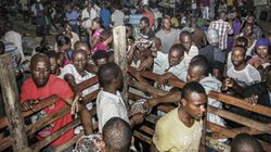 Fechado abrigo para haitianos no