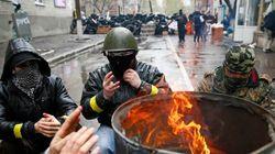 Aumenta a tensão: desalojamento de rebeldes pró-Rússia deixa mortos na