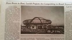 Nada de Copa: NYTimes fala sobre obras inacabadas e superfaturadas no
