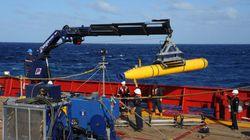 Um drone submarino pode encontrar o avião