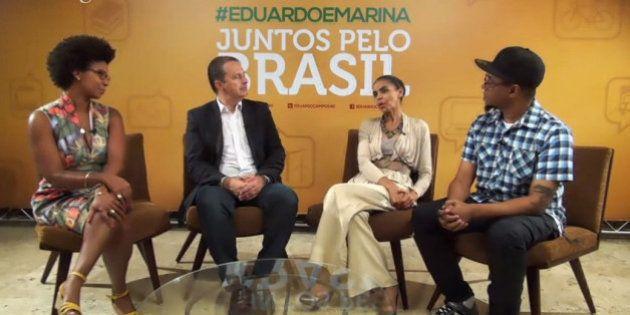 Sem responder internautas, Eduardo Campos e Marina Silva mantêm sintonia em