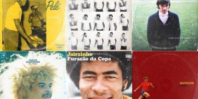 Futebol X Música: artista cria capas de discos inspiradas em grandes nomes do futebol