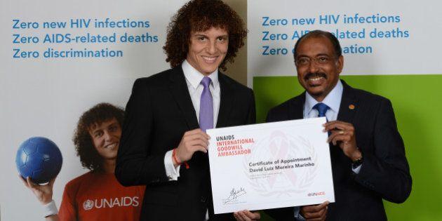 David Luiz é nomeado Embaixador Internacional de Boa Vontade do