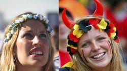 Argentina X Bélgica: mata-mata de torcedoras nas quartas-de-final da Copa