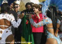 Dilma Rousseff e uma semana especialmente