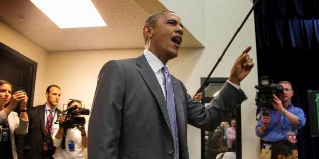 Obama liga para seleção americana para dizer que o país está