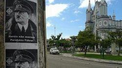 Em Itajaí, Santa Catarina, uma homenagem de péssimo gosto marcou o domingo de