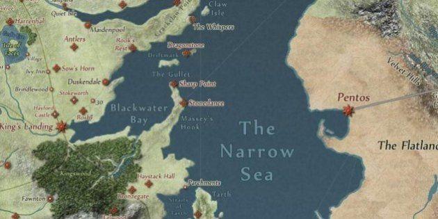 Fãs de Game Of Thrones criam mapa virtual livre de