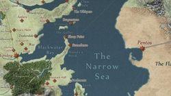 Um mapa online de Game Of Thrones. E livre de