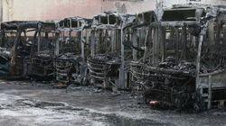 Da onde partem os ataques a ônibus em