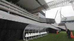 Estádios com obras atrasadas recebem vistoria de