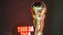 A Taça da Copa já está no