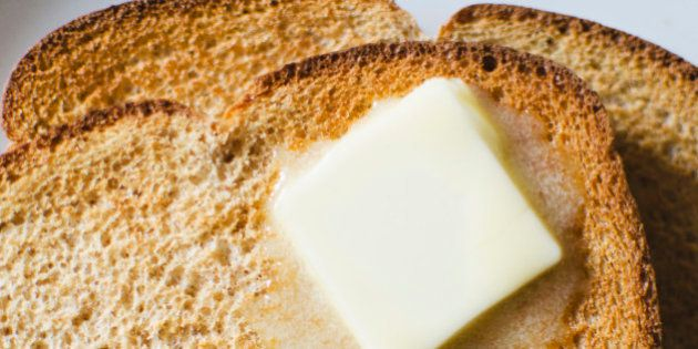 Pode comer manteiga,