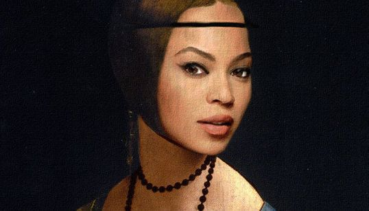 Crazy In... Paint?! Beyoncé e a família Carter em pinturas