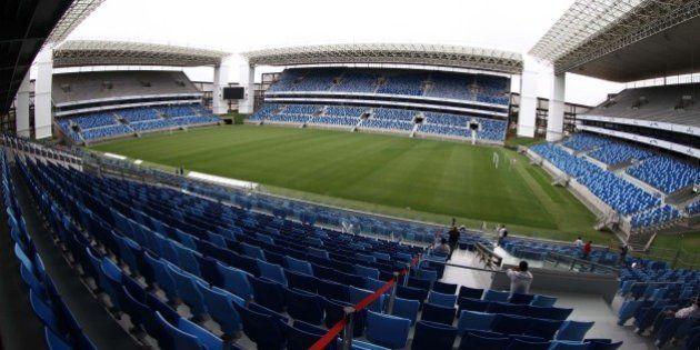 Copa 2014: Valcke elogia Arena Pantanal em vistoria por estádios em