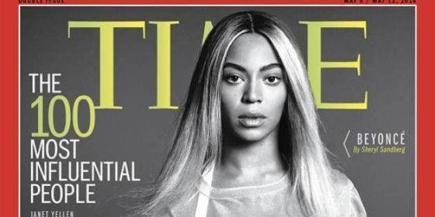 Beyoncé não é mandona, ela é a capa dos mais influentes da