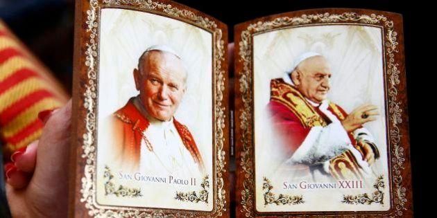 Canonização: João Paulo II e João XXIII são declarados santos pelo papa