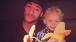 Neymar: apoio a Daniel Alves com