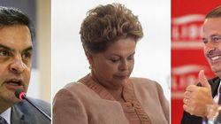 Dilma cai, Aécio e Campos crescem: nova pesquisa aponta migração de