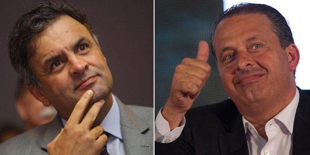 Aécio quer aliança com Eduardo Campos e Marina Silva em