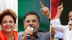 Os três já estão de olho no SEU voto. Veja