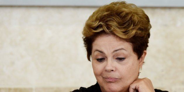 Brazilian President Dilma Rousseff attends an Economic and Social Development Council (CDES) meeting...