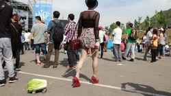Depressão? Moda hipster? Na China, jovens estão arrastando repolhos pela