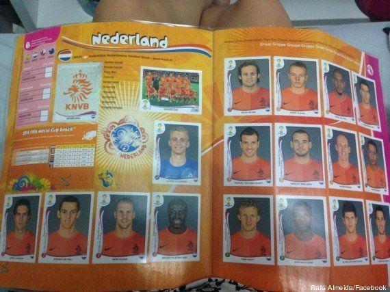 Álbum da Copa: leitora do Brasil Post envia página completa com o time da