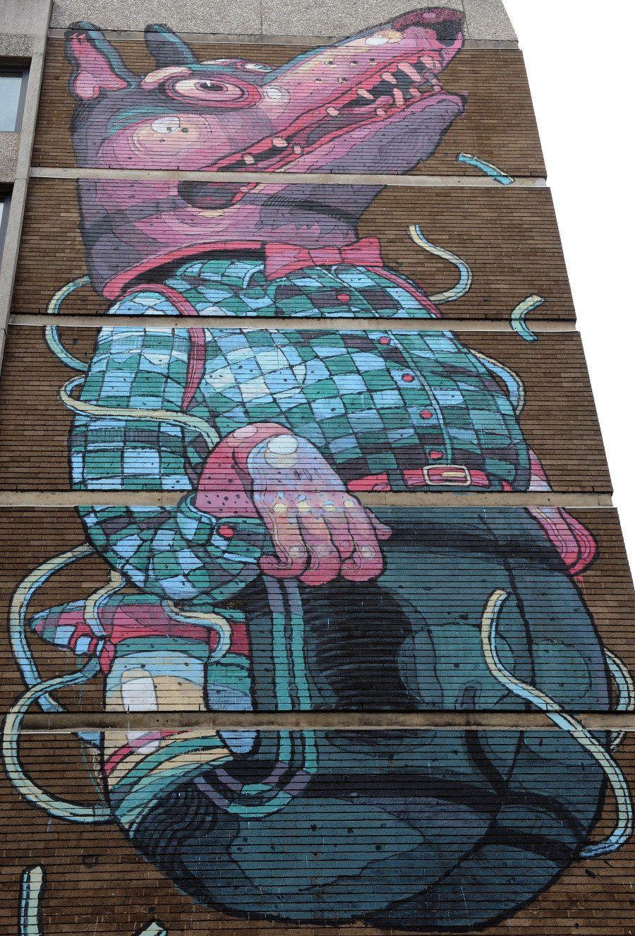 25 artistas que estão mudando a arte de rua em todo o mundo
