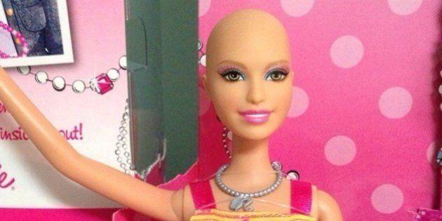 Ella, a Barbie careca