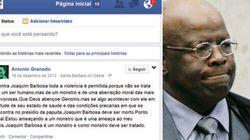 'Joaquim deve ser morto': ameaça no Facebook mobiliza investigação da Polícia