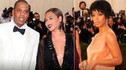 Solange e Jay-Z saem no pau, mas só se fala na Beyoncé fazendo a